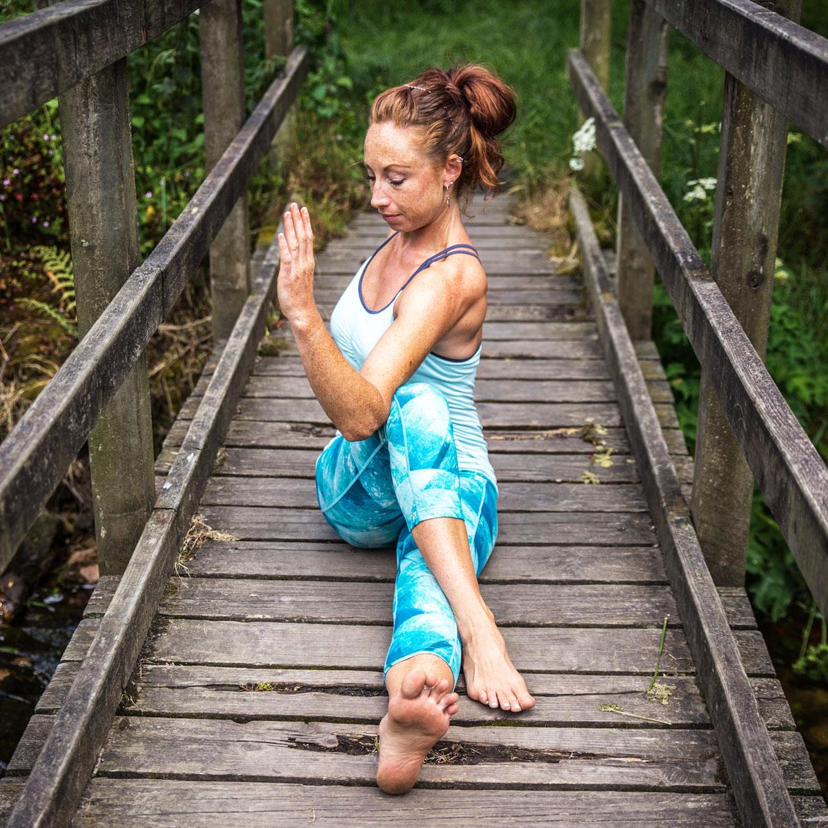 st just teaching yoga